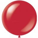 Шар-гигант Вишнево-красный