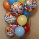 букет шаров на день рождения доставка шаров, воздушные шары, шарики с гелием, воздушные шары, воздушные шары спб