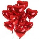 фольгированные сердца доставка шаров, воздушные шары, шарики с гелием, воздушные шары, воздушные шары спб
