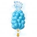 фонтан на выписку «привет малыш» доставка шаров, воздушные шары, шарики с гелием, воздушные шары, воздушные шары спб