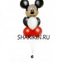 фонтан с микки доставка шаров, воздушные шары, шарики с гелием, воздушные шары, воздушные шары спб
