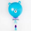 мишка гигант с тассел доставка шаров, воздушные шары, шарики с гелием, воздушные шары, воздушные шары спб
