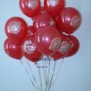 шар «с юбилеем» доставка шаров, воздушные шары, шарики с гелием, воздушные шары, воздушные шары спб