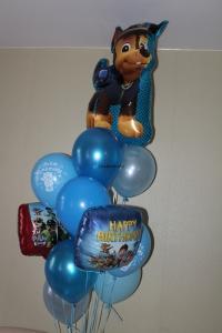 фонтан из шаров с чейзом доставка шаров, воздушные шары, шарики с гелием, воздушные шары, воздушные шары спб